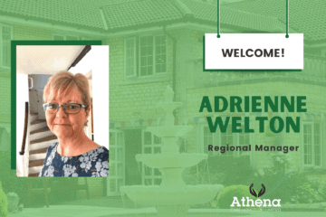 Athena Care Homes welcomes Adrienne Welton, Regional Manager.